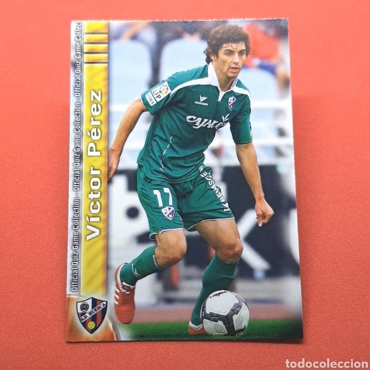 (41.3) MUNDICROMO LIGA 2009-2010. (HUESCA) - N°939 VÍCTOR PÉREZ (Coleccionismo Deportivo - Álbumes y Cromos de Deportes - Cromos de Fútbol)