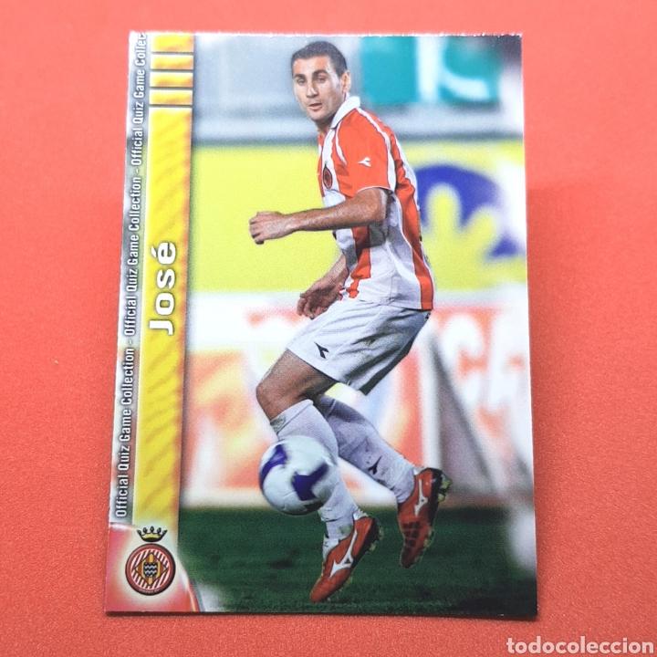 (41.3) MUNDICROMO LIGA 2009-2010. (GIRONA) - N°1034 JOSÉ (Coleccionismo Deportivo - Álbumes y Cromos de Deportes - Cromos de Fútbol)