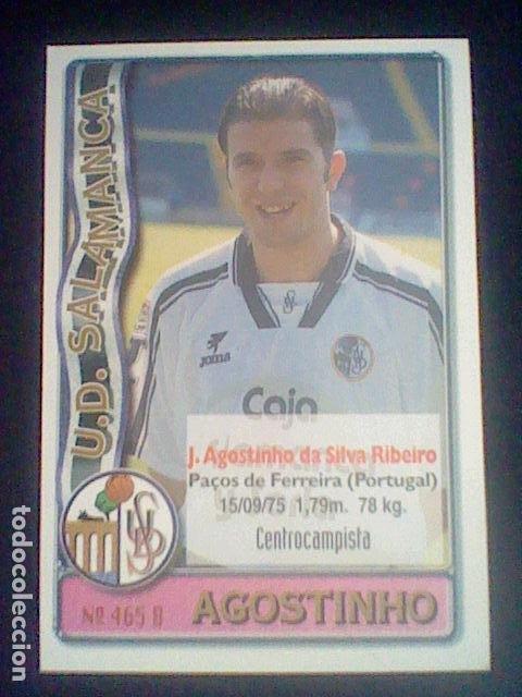Cromos de Fútbol: 465 AGOSTINHO TORRECILLA SALAMANCA - 2º DIVISIÓN MUNDICROMO 96/97 1996 1997 * - Foto 2 - 226129595