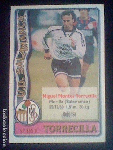 465 AGOSTINHO TORRECILLA SALAMANCA - 2º DIVISIÓN MUNDICROMO 96/97 1996 1997 * (Coleccionismo Deportivo - Álbumes y Cromos de Deportes - Cromos de Fútbol)