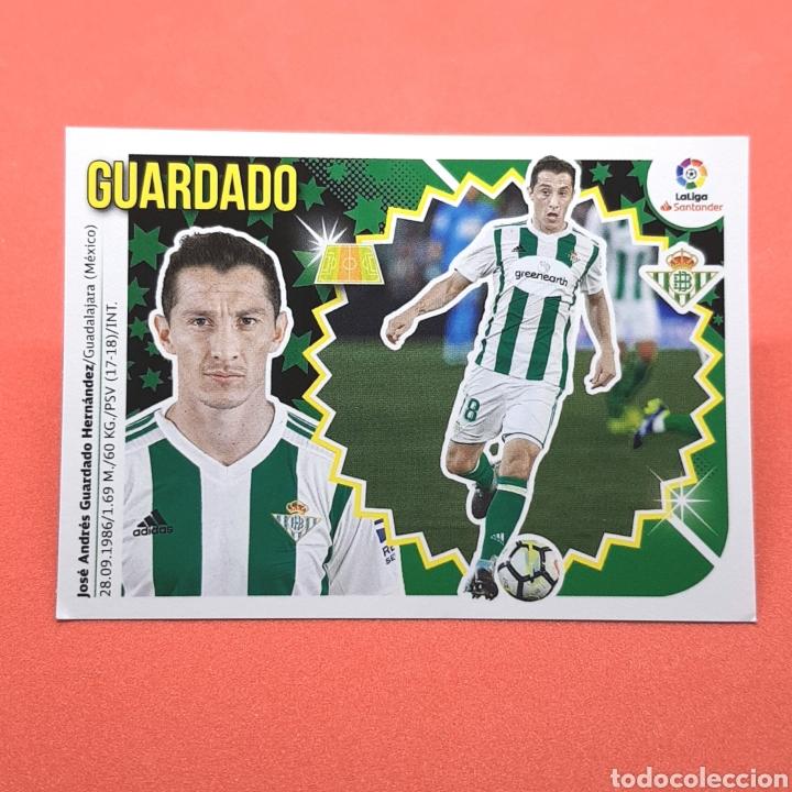(41.3) CROMO LIGA ESTE: 2018-2019 (BETIS) N°9 GUARDADO (Coleccionismo Deportivo - Álbumes y Cromos de Deportes - Cromos de Fútbol)