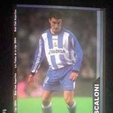 Cromos de Fútbol: SCALONI 63 CORVÑA FICHAS LIGA 2003 2004 03 04 MUNDICROMO MC **. Lote 226140880