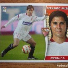 Cromos de Fútbol: ESTE 2006 2007 PANINI FERNANDO SALES (SEVILLA) - SIN PEGAR LIGA 06 07. Lote 226370910