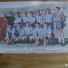 Cromos de Fútbol: FUTBOL EQUIPO R C.D. CORUÑA OBSEQUIO REVISTA PULGARCITO VER FOTOS CJ 5. Lote 226371612