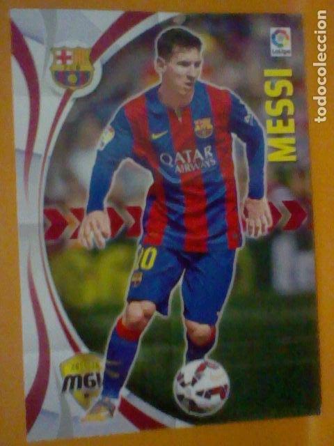 MESSI MGK MEGACRAKS Nº 72 2016 16 15 2015 BE BARCELONA (Coleccionismo Deportivo - Álbumes y Cromos de Deportes - Cromos de Fútbol)