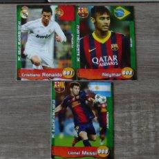 Cromos de Fútbol: CROMO MESSI FC BARCELONA ARGENTINA FOOTBALL STARS TRADING CARDS 005. Lote 226436435