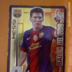 Cromos de Fútbol: MESSI Nº 447 2012 13 2013 12 SOBADO BARCELONA BALON ORO. Lote 226574790