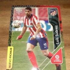 Cartes à collectionner de Football: FICHA MEGACRACKS TEMPORADA 2020/21, EDITORIAL PANINI, JUGADOR LUIS SUÁREZ (NUEVO FICHAJE), Nº 444. Lote 226640236