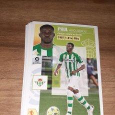 Cartes à collectionner de Football: CROMO COLECCIONES ESTE, TEMPORADA 2020/21, EDITORIAL PANINI. JUGADOR PAUL AKOUOKOU (REAL BETIS). Lote 226646325