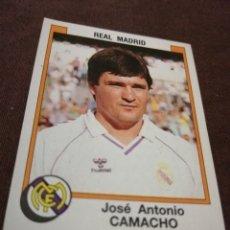Cromos de Fútbol: PANINI FÚTBOL 88 REAL MADRID 183 CAMACHO. Lote 226686015