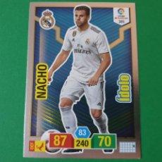 Cromos de Fútbol: 385 NACHO (ÍDOLO) - REAL MADRID - ADRENALYN XL 2018-19 - 18/19 (NUEVO). Lote 226705190
