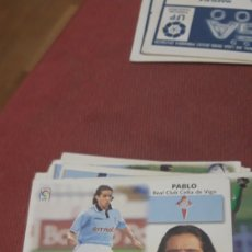 Cromos de Fútbol: PABLO CELTA ESTE 99 00 1999 2000 SIN PEGAR. Lote 226874390