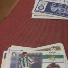 Cromos de Fútbol: CAÑAS BETIS ESTE 99 00 1999 2000 SIN PEGAR. Lote 226874495