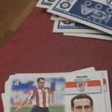 Cromos de Fútbol: FELIPE ATHLETIC DE BILBAO ESTE 99 00 1999 2000 SIN PEGAR. Lote 226876210
