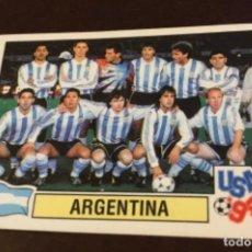 Cromos de Fútbol: ANTIGUO CROMO MARADONA MUNDIAL USA 94 NUNCA PEGADO IMPECABLE. Lote 226945320