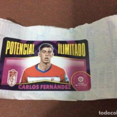 Cromos de Fútbol: CHICLE - 2'020-2021-POTENCIAL ILIMITADO GRANADA-CARLOS FERNÁNDEZ - LIGA SANTANDER PANINI-LIGA ESTE. Lote 226970315