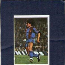 Cromos de Fútbol: MARADONA (F.C. BARCELONA) - LIGA 83/84 - CROMOS CANO - FÚTBOL 84 - NUNCA PEGADO.. Lote 226986124