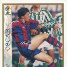 Cromos de Fútbol: FICHAS DE LA LIGA 1997-98 Nº 37 OSCAR - FC BARCELONA. Lote 227007720