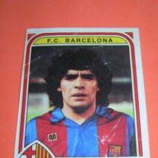 Cromos de Fútbol: MUY DIFÍCIL CROMO DIEGO ARMANDO MARADONA - F.C. BARCELONA - COLECCIÓN FÚTBOL 84 DE PANINI - LEER -. Lote 227088390