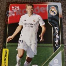 Cromos de Fútbol: ODEGAARD NUEVO FICHAJE NÚM 448 DEL REAL MADRID DE LA COLECCIÓN DE MEGACRACKS TEMPORADA 2020 / 2021. Lote 227106197