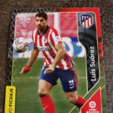 Cromos de Fútbol: LUIS SUÁREZ NUEVO FICHAJE NÚM 444 DEL AT DE MADRID DE LA COLECCIÓN DE MEGACRACKS TEMPORADA 2020 /202. Lote 227106285