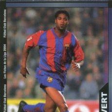 Cromos de Fútbol: LAS FICHAS DE LA LIGA 2004 Nº 157 KLUIVERT - FC BARCELONA. Lote 227144382
