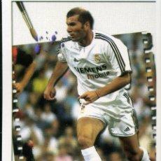 Cromos de Fútbol: LAS FICHAS DE LA LIGA 2004 Nº 687 ZIDANE - REAL MADRID F. Lote 227202485