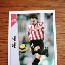 Cromos de Fútbol: MUNDICROMO 2007. ATLETIC DE BILBAO MURILLO NÚMERO 306. Lote 288481758