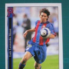 Cromos de Fútbol: MUNDICROMO MC - FC BARCELONA 2005 2006 - LUIS LEONARDO MESSI # 602 +. Lote 227775520