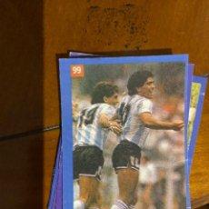 Cromos de Fútbol: MARADONA MUNDIAL 1986 ARGENTINA CAMPEON. Lote 227780985