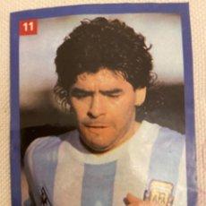 Cromos de Fútbol: MARADONA GANA CAMPEONATO MUNDIAL 1986. Lote 227781675