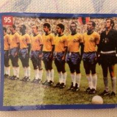 Cromos de Fútbol: EQUIPO BRASIL CON PELE MUNDIAL 1970. Lote 227781850