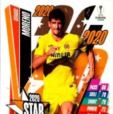 Cromos de Fútbol: STAR17 GERARD MORENO - VILLARREAL C.F. - STAR - TOPPS CHAMPIONS LEAGUE MATCH 2020 2021 20 21. Lote 227871565