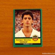 Cromos de Fútbol: VALENCIA - Nº 311, QUIQUE - FÚTBOL 90 PANINI 1989-1990, 89-90 - NUNCA PEGADO. Lote 227969301