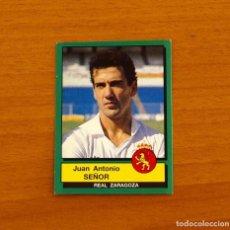 Cromos de Fútbol: ZARAGOZA - Nº 352, SEÑOR - FÚTBOL 90 PANINI 1989-1990, 89-90 - NUNCA PEGADO. Lote 227969865