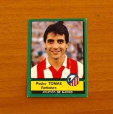Cromos de Fútbol: ATLÉTICO DE MADRID - Nº 23, TOMÁS - FÚTBOL 90 PANINI 1989-1990, 89-90 - NUNCA PEGADO. Lote 227970220