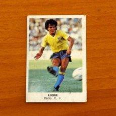 Cromos de Fútbol: CÁDIZ - LUQUE - CROMOS CANO - FÚTBOL 1983-1984, 83-84. Lote 227977970