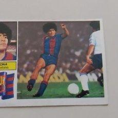Cromos de Fútbol: ANTIGUO CROMO DE DIEGO ARMANDO MARADONA FUTBOL LIGA ESTE 82 83. Lote 228017285