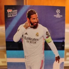 Cromos de Fútbol: SERGIO RAMOS 100 GOALS FOR REAL MADRID UCL TOPPS NOW #19. Lote 228301885
