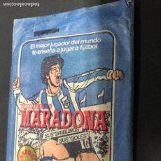 Cromos de Fútbol: SOBRE CON CROMOS FUTBOL MARADONA LIGA DIVISION 1 LIGA CROMO ESPORT. Lote 228319520