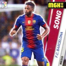 Cromos de Fútbol: MEGACRAKCS 2012-13 Nº 492 SONG - FC BARCELONA. Lote 228384585