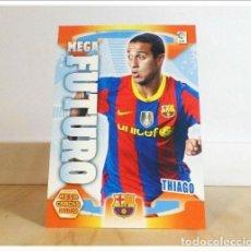 Cromos de Fútbol: MEGACRACKS 2011 2012 11 12 PANINI. THIAGO Nº 423 MEGA FUTURO (FC BARCELONA) ALBUM LIGA FÚTBOL MGK. Lote 228395595