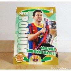 Cromos de Fútbol: MEGACRACKS 2011 2012 11 12 PANINI. CAMPEÓN LIGA XAVI 361 MEGA PODIUM (BARCELONA) ALBUM LIGA MGK. Lote 228395640