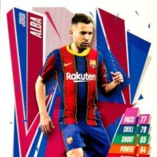Cromos de Fútbol: BAR7 JORDI ALBA - FC BARCELONA - TOPPS CHAMPIONS LEAGUE MATCH ATTAX 2020 2021 20 21. Lote 228395885