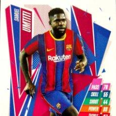 Cromos de Fútbol: BAR8 SAMUEL UMTITI - FC BARCELONA - TOPPS CHAMPIONS LEAGUE MATCH ATTAX 2020 2021 20 21. Lote 228396010
