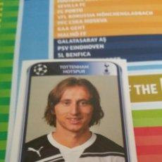 Cartes à collectionner de Football: PANINI UEFA CHAMPIONS LEAGUE 2010 2011 MODRIC. Lote 228417905