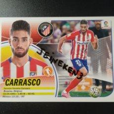 Cromos de Fútbol: ESTE 2016/17 13 CARRASCO AT.MADRID. Lote 228568235