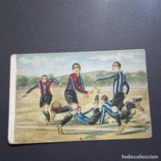 Cromos de Fútbol: ENSEÑANZA DEL JUEGO CHOCOLATES JAIME BOIX LIGA CROMO FUTBOL - SIN PEGAR - RF0 - 20. Lote 228568400