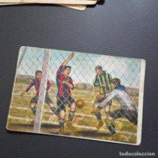Cromos de Fútbol: ENSEÑANZA DEL JUEGO CHOCOLATES JAIME BOIX LIGA CROMO FUTBOL - SIN PEGAR - RF0 - 87. Lote 228568500