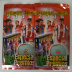 Cromos de Fútbol: LOTE DE 5 SOBRES SIN ABRIR 2009 ESPECIALES PREMIOS. Lote 228568638